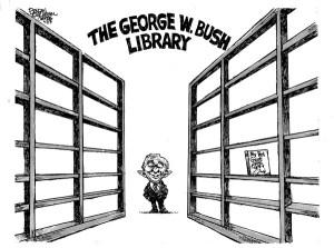 bush-no-books